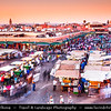 Africa - Morocco - Marrakesh - Marrakech - UNESCO World Heritage