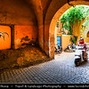 Northern Africa - Kingdom of Morocco - Marrakesh - Marrakech - UNESCO World Heritage Site - Old Town - Medina of Marrakesh - Historical center - Traditional streets & alleys