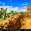 Northern Africa - Kingdom of Morocco - Souss-Massa Region - Chtouka Aït Baha Province - Agadir Ikounka - Traditions Berber Fortified Granary for storing food