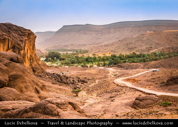 Northern Africa - Kingdom of Morocco - Souss-Massa Region - Oasis de Fint