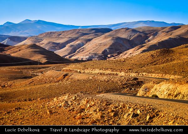Northern Africa - Kingdom of Morocco - Souss-Massa-Drâa - Ounila valley - La vallée de l'Assif (oued) Ounila - Valley of Ancient Kasbah's & Ksars - Former caravan route from Sahara over Atlas Mountains to Marrakech