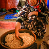 Africa - Morocco - Southwest - Arganeraie - Argan oil produced by women's co-operatives in traditional technique - UNESCO Culture Intangible Heritage