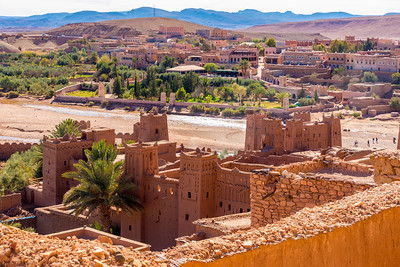 The view from Aït Ben Haddou