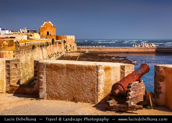 Africa - Morocco - Atlantic coast - El Jadida - UNESCO World Heritage Site - Old Medina of Portuguese City of Mazagan - Coastal town with un-Moorish appearance & massive Portuguese walls of hewn stone
