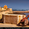 Africa - Morocco - Atlantic coast - El Jadida - UNESCO World Heritage Site - Old Medina of Portuguese City of Mazagan - Coastal town with un-Moorish appearance & massive Portuguese walls of hewn stone