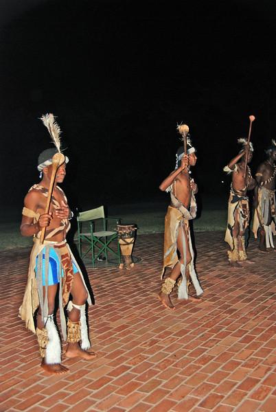 African Dance, Vic Falls Hotel