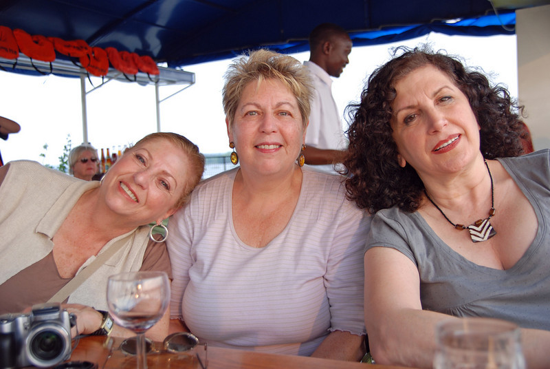 Carol, Barbara and Liz