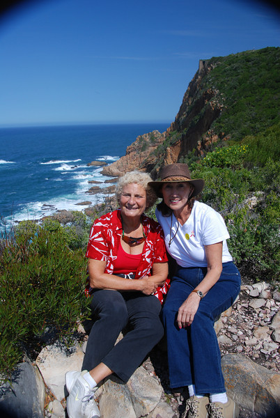 Isobel and Rosalind, Featherbed Reserve, Knynsa