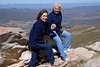 Rosalind and isobel on Swartberg Pass