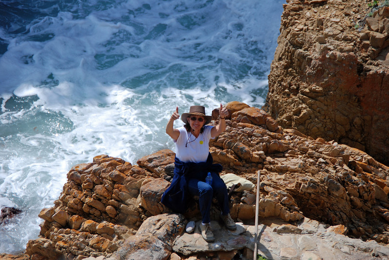Rosalind on the Rocks, Featherbed Reserve, Knynsa