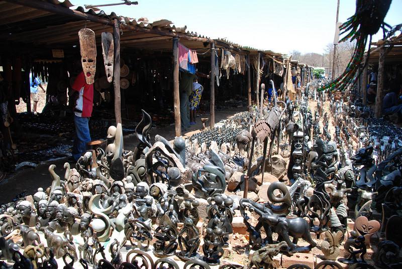 Curio Market, Zimbabwe