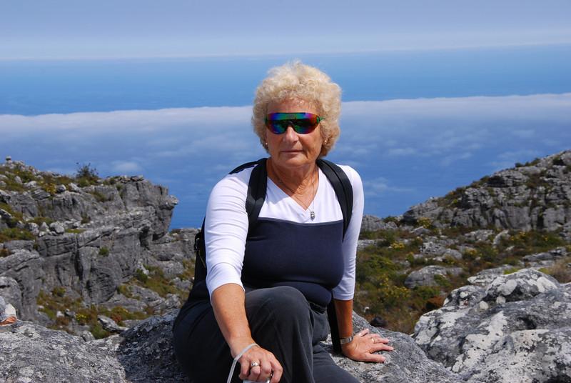 Isobel on Table Mountain