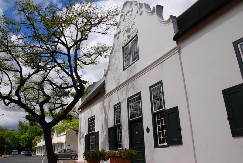 Dutch Gable Manor House, Stellenbosch