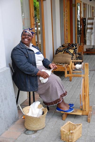 Sil Weaver in Stellenbosch