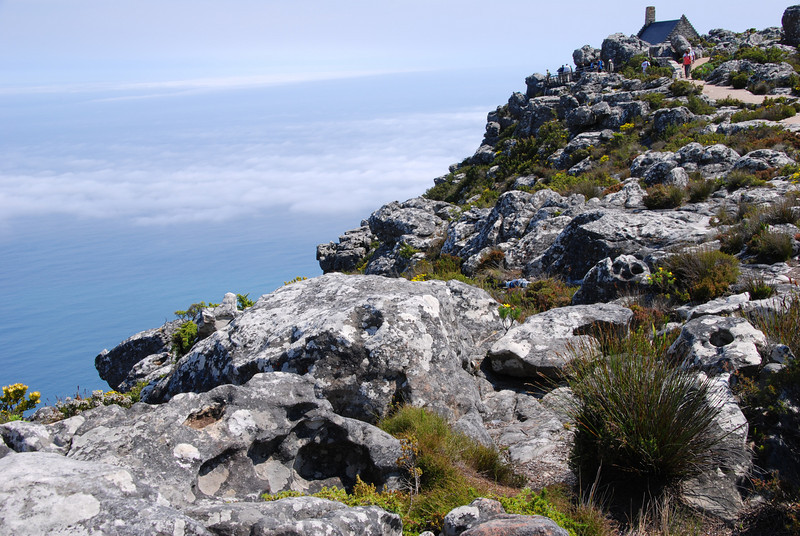 Rocky Escarpments on Table Mountain