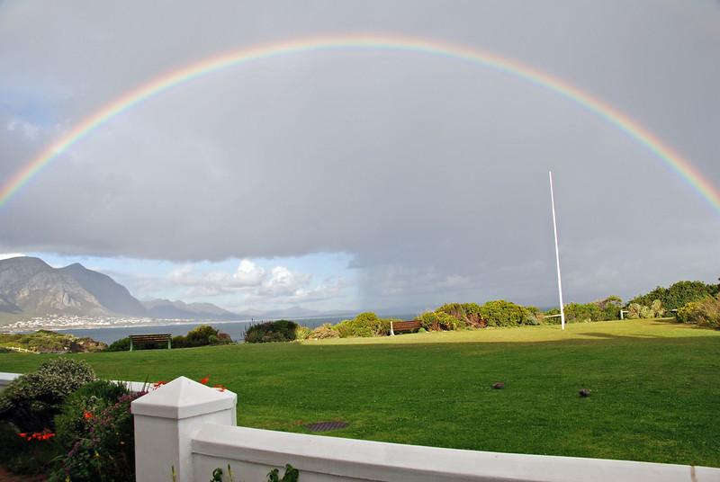 Rainbow, Hermanus