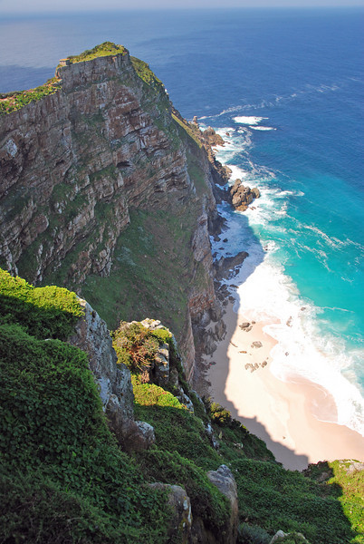 Cliffs on Cape Point