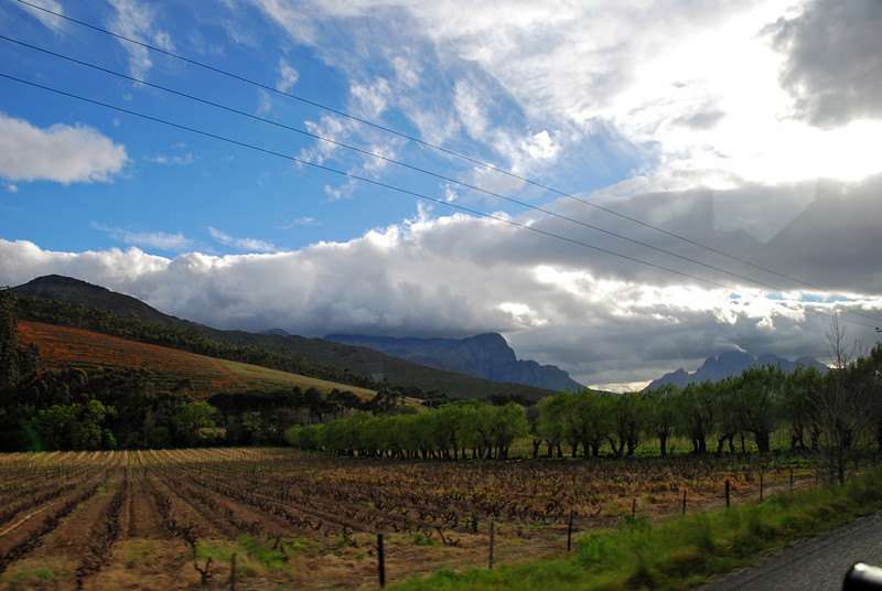 En Route to Franschoek