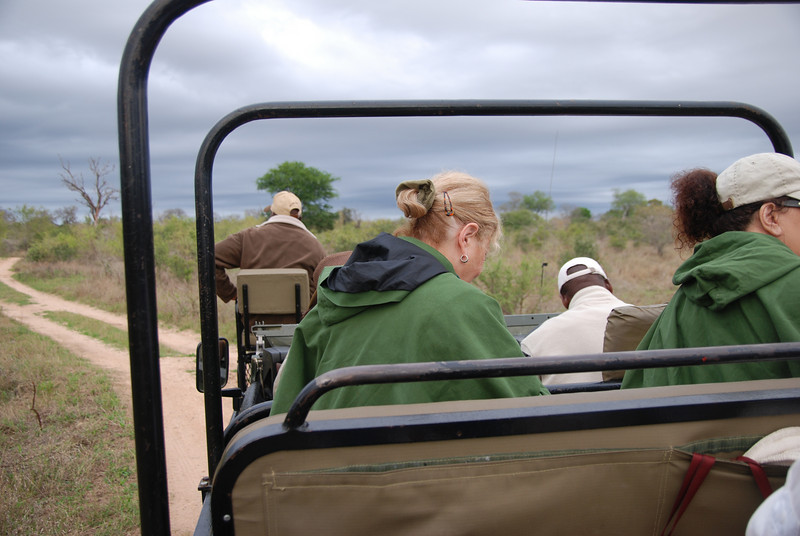 Open Jeep, Inyati Game Reserve