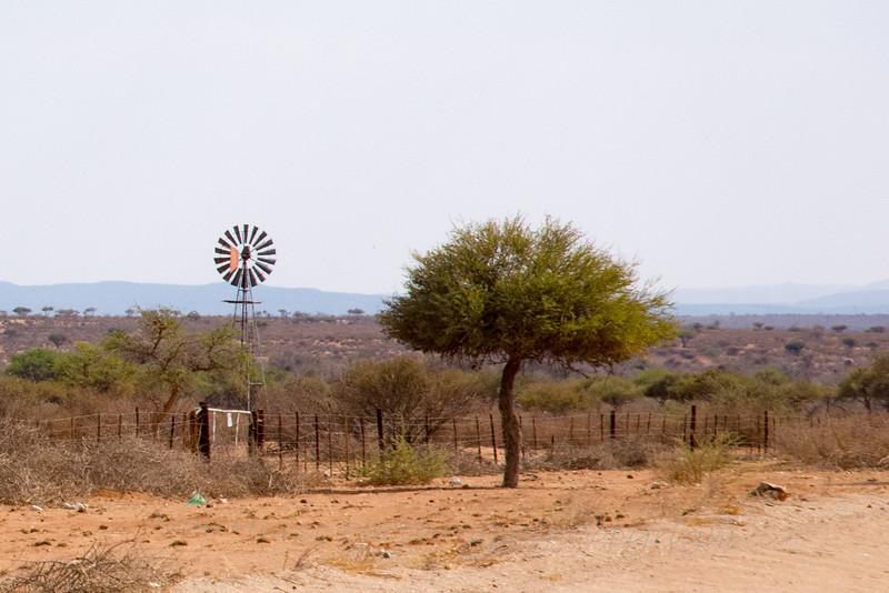 Wind water pump