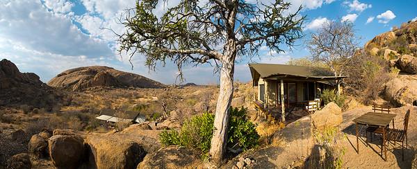 Erongo Mountains, west of  Omaruru