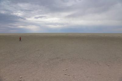 Etosha National Park, Namibia The Etosha Salt Pan in Etosha National Park.