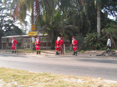 Santas in Lagos