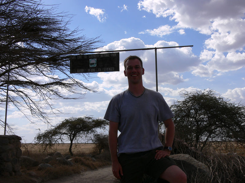 crossing from the Ngorongoro Conservation Area into the Serengeti National Park