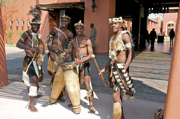 And no, Africans don't really dress like this.