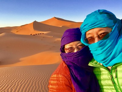 Just a couple of Bedouins in the Sahara