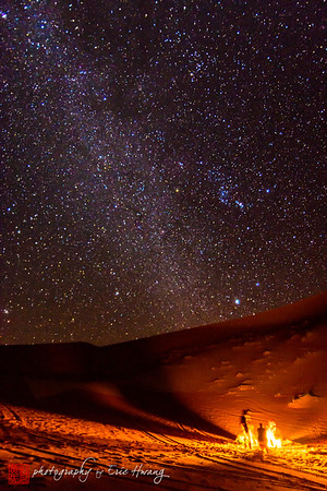 Nighttime in the Sahara
