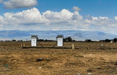 Service Station rural Kenya
