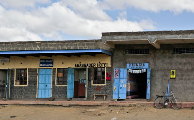Hotels, rural Kenya