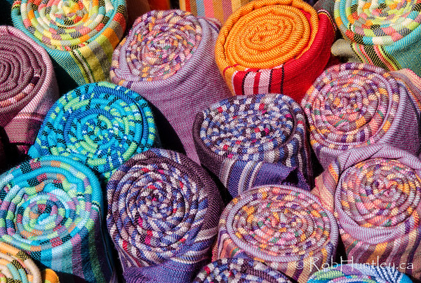 Colourful blankets, Old Biscuit Mill