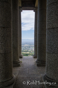 Pillars at the Rhodes Memorial