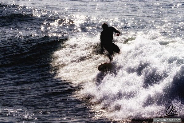 Surfing the light