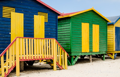 Beach Huts at St. James Beach.