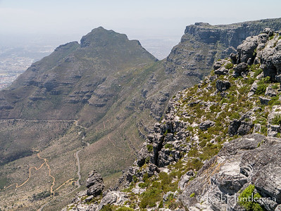 A view from Table Mountain.