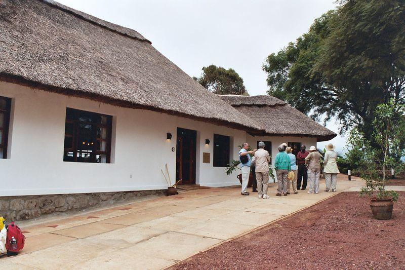 Ngorongoro Farmhouse, Main Lodge