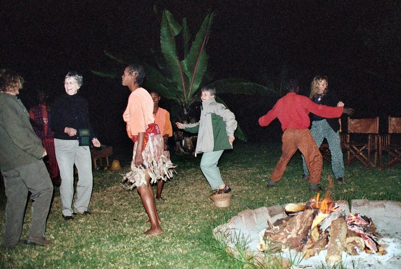 Ngorongoro Farmhouse, Our Turn!