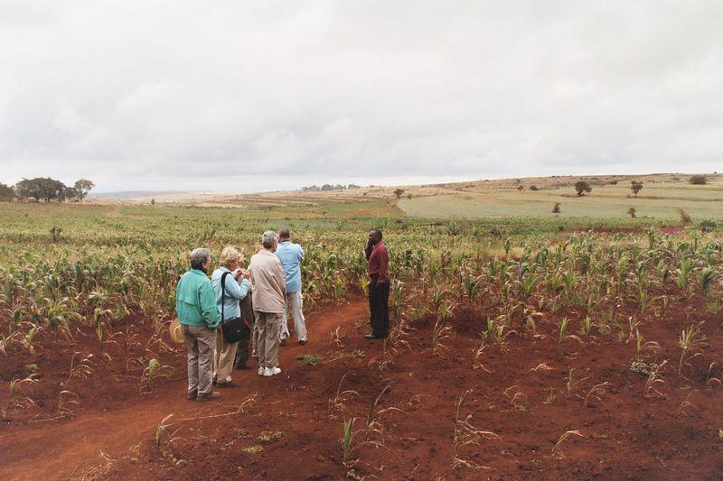 Touring Ngorongoro Farm