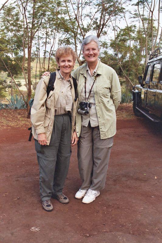 Sharon and Linda