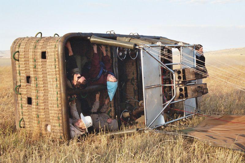 Serengeti NP - Landing Position
