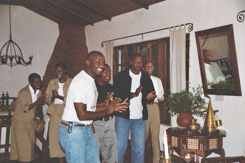 Plantation Lodge - Allen, Deo, Nixon and Staff Entertain