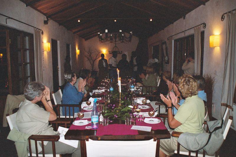 Plantation Lodge - Kwaheri Dinner