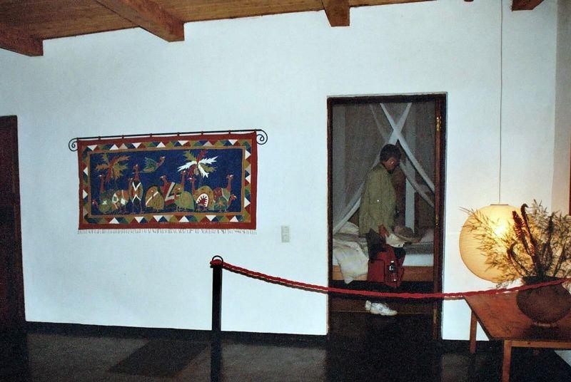 Plantation Lodge - Tribal Textiles Wall Hanging