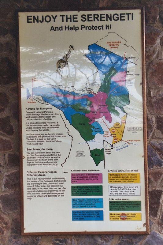 Entering the Serengeti National Park at Naabi Hill Gate