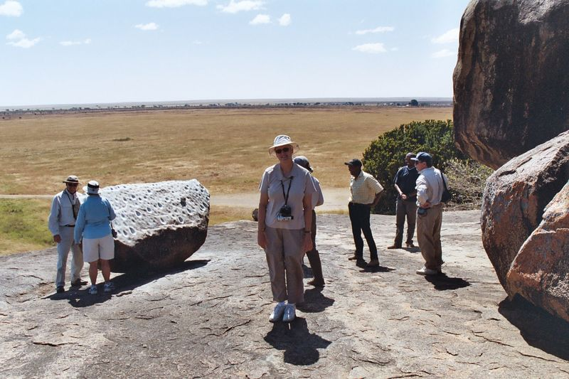 Serengeti NP - Strike the Rock with Another In Just the Right Place and...Gong!