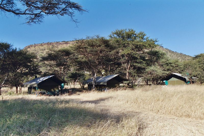 Serengeti NP - Sleeping Tents