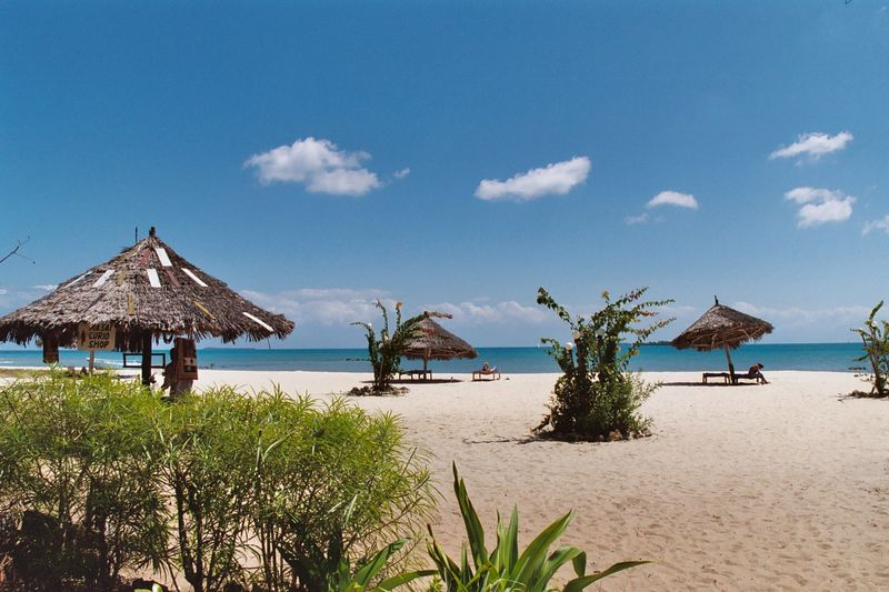 Mtoni Marine Beach Scene.
